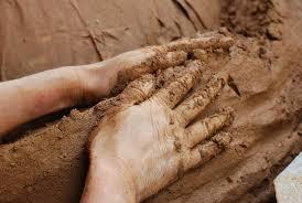 plaster-hand