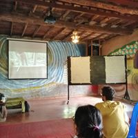 Classroom session at Earth Home