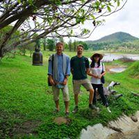 Visit to Chentawan meditation centre