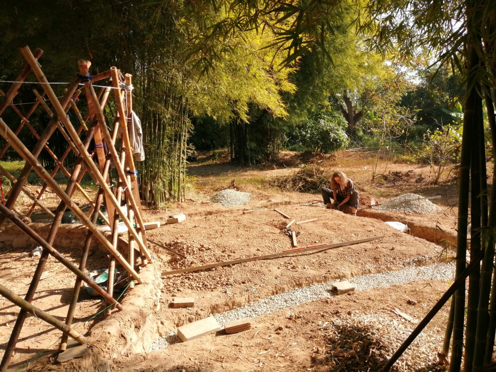 wwoofing, wwoof, wwoofers, thailand, eco building, natural building, construction, design, bamboo