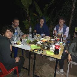Simon, Gael, Natanael, Alain and Sonam