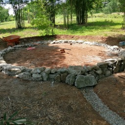 Foundation completed !