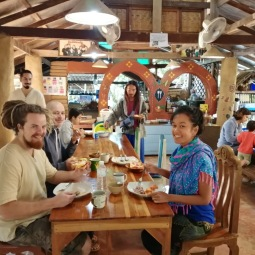 Dining room at Earth Home Homestay