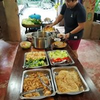 Always colourful and delicious food at Earth Home Thailand !!