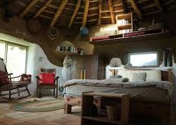 natural house interior