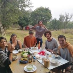 Micky, Audrey, Mattias, Fon, Santiago and Samuel